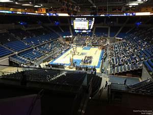 Pauley Pavilion Seating Chart Basketball Pauley Pavilion Section 208 Rateyourseats Com