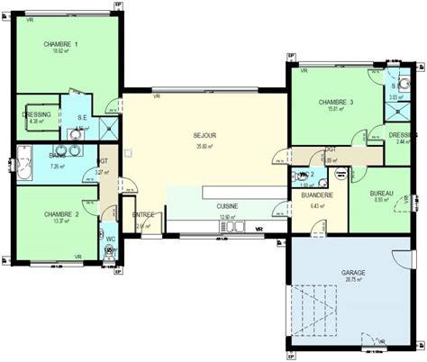 idee amenagement bureau construction 86 fr gt plan maison ossature bois plain pied
