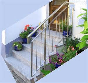 treppe bauen holz treppengeländer holz edelstahl aussen bvrao