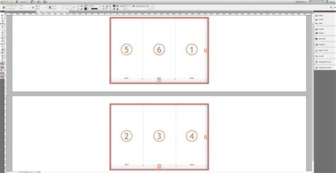design trifold template   software