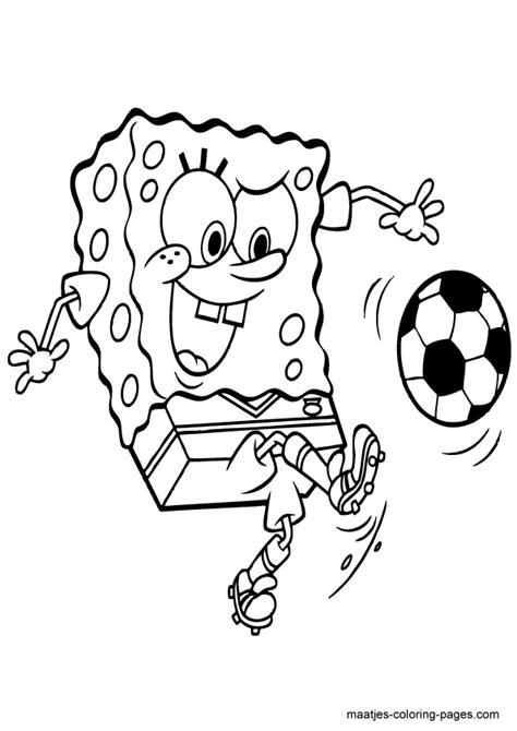 Huis Spongebob Kleurplaat by Spongebob Squarepants Soccer Soccer Coloring
