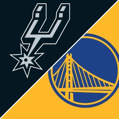 Spurs Warriors Game Summary April Espn
