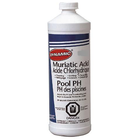 muriatic acid muriatic acid rona
