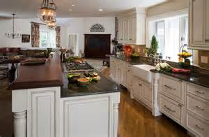 open floor plan kitchen designs open floor plan transforms colonial traditional kitchen boston by tibma design build