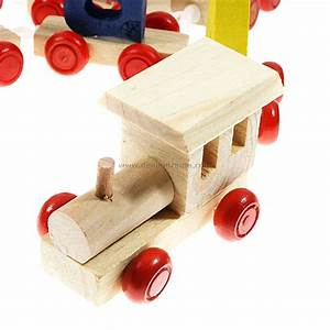 a to z wooden letter train set free shipping dealextreme With wooden letter train set