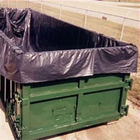 yard dumpster liners  dump trailer  mil thickness
