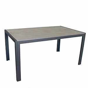 Polywood Gartenmöbel Set : gartenm bel set gartentisch aluminiumrahmen anthrazit tischplatte polywood grau 150x90cm 6x ~ Markanthonyermac.com Haus und Dekorationen