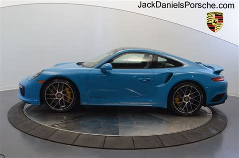 miami blue porsche turbo s dealer inventory 911 turbo s coupe miami blue rennlist