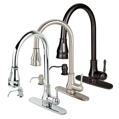 Kitchen Sink Faucet by New Contemporary Kitchen Sink Faucet Pull Out Spray Swivel