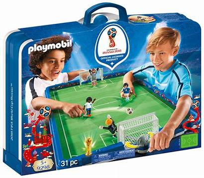 Foot Playmobil Russie Sports Transportable Stade Fifa