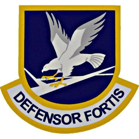 Military Awards And Decorations by Defensor Fortis Air Force Security Force Small Clear Decal