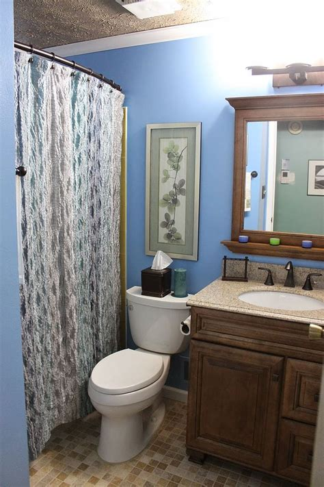 hometalk diy small bathroom renovation