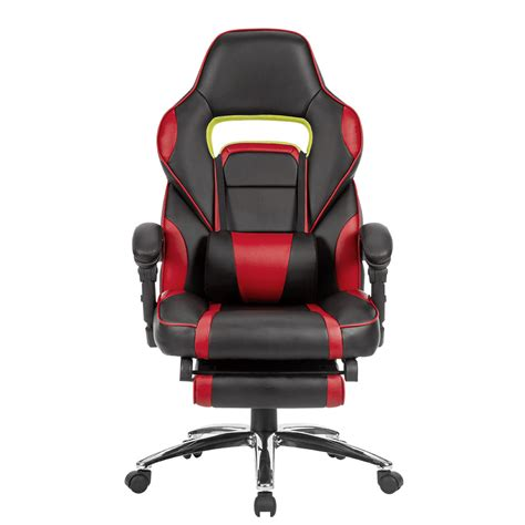 leather high back ergonomic office chair executive racing