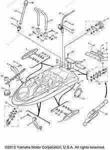 Yamaha Boat 2000 Oem Parts Diagram For Hull