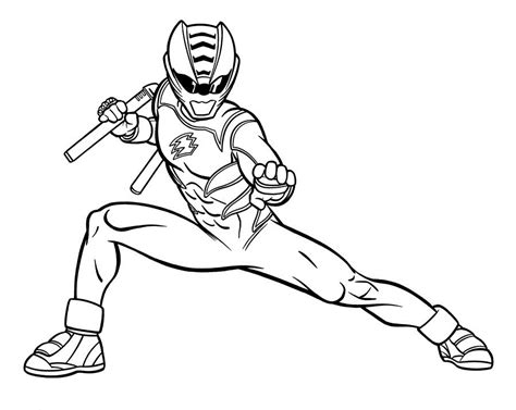 power rangers jungle fury coloring pages az coloring pages