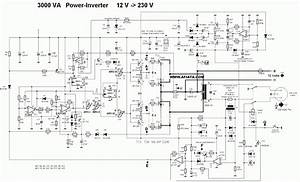 Inverter Circuit  3000w Power Inverter Circuit