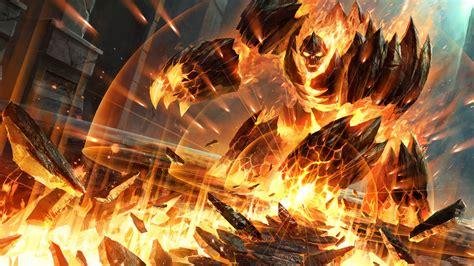 wallpaper demonwrath hearthstone heroes  warcraft