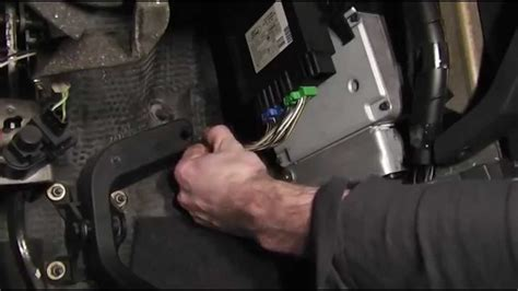 ford focus accelerator pedal removal youtube