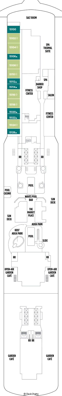 Breakaway Deck Plan 8 by Breakaway Deck 15 Cruise Critic