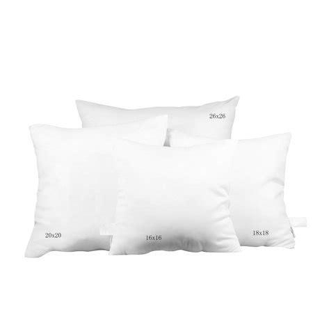 walmart pillow inserts pal fabric square pillow insert 26 quot x26 quot walmart