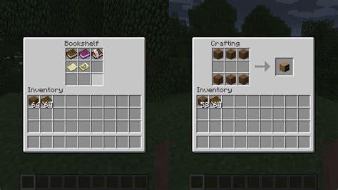 Bookcase Recipe by Bookshelf Mod Minecraft