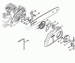 Stihl Ms 210 Parts Diagram