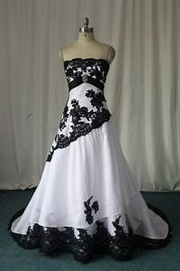 wedding dresses with black lace detail sangmaestro With black lace wedding dresses