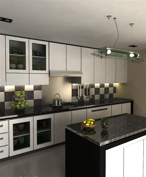 white and black kitchen designs black and white kitchen designs ideas 9204