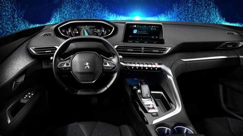 peugeot interior 2017 peugeot 3008 official interior pics leaked 2017