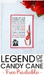 Legend of the Candy Cane Printable - Viva Veltoro