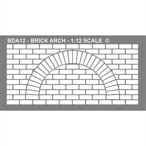 brick arch stencil bda bromley craft