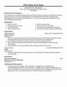 Good phrases to use on a resume