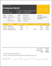 Service Template Excel Ms Excel Service Invoice Template Excel Invoice Templates