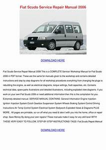 Fiat Scudo Service Repair Manual 2006 By Forrestegan