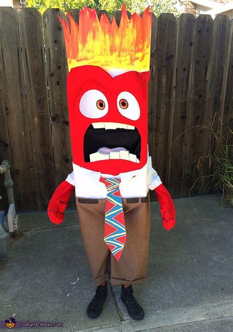 anger diy costume