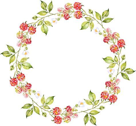 Oval Clipart Floral Wreath Coronas De Flores Dibujos