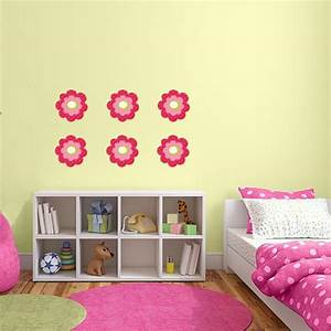 beautiful flowers printed wall decals wall decal world With beautiful flower decals for walls