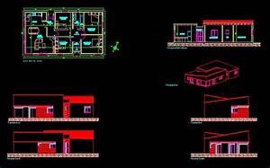 plan de maison individuelle dwg With plan de maison dwg gratuit