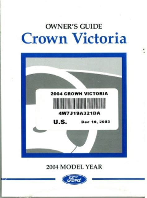 free online auto service manuals 2004 ford crown victoria parental controls 2004 ford crown victoria owner s manual