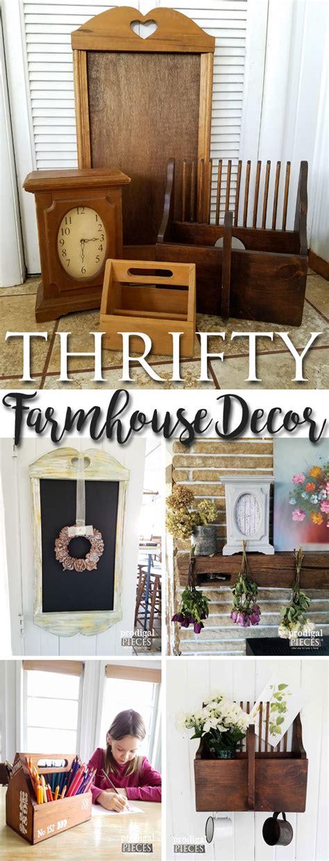 Thrifty Farmhouse Decor  Budget Style Decorating