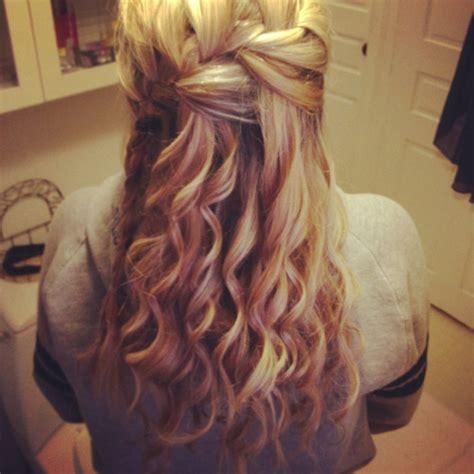 homecoming hair on tumblr