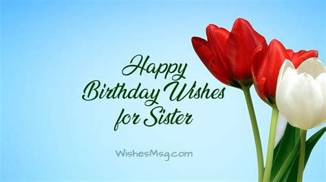 birthday wishes  sister happy birthday sister messages