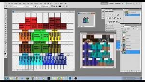 1 8 Minecraft Skin  Template  U0026 Map