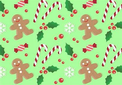 Christmas Pattern Background Vector Patterns Clipart Candy