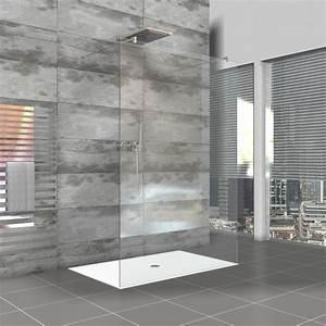 Duschtrennwand Bodengleiche Dusche : rahmenlose duschwand walk in dusche als duschabtrennung ~ Michelbontemps.com Haus und Dekorationen