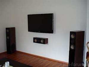 Kabel Verstecken Wand : die tv wand heimkino surround wand hifi bildergalerie ~ Frokenaadalensverden.com Haus und Dekorationen