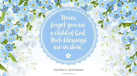 daily quote rich blessings   store mormon channel