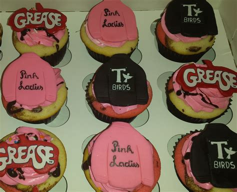 pin  samantha wilson  birthday cakes grease party