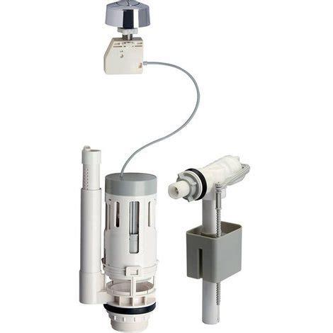 chasse d eau toilette suspendu kit chasse d eau ensemble complet 3 6 l m 233 canisme bouton poussoir et robinet flotteur 439