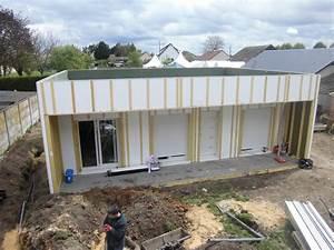 Ossature Bois Maison : une maison bois construite en un seul jour pour d co natilia ~ Melissatoandfro.com Idées de Décoration